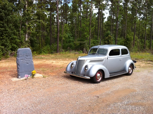 Bonnie and Clyde Ambush Site, Gibsland, LA