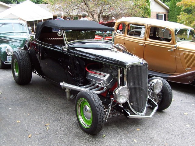 Dave's '33 Roadster (Photo by Vince Baker)