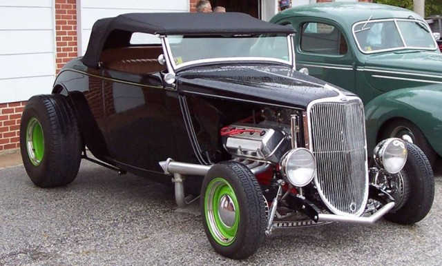 Dave Johnson's '33 Roadster (photo courtesy of Vince Baker)