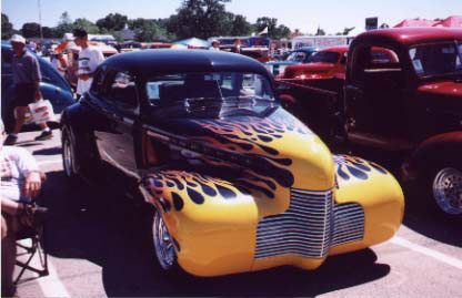Dave's '40 Chevy Coupe