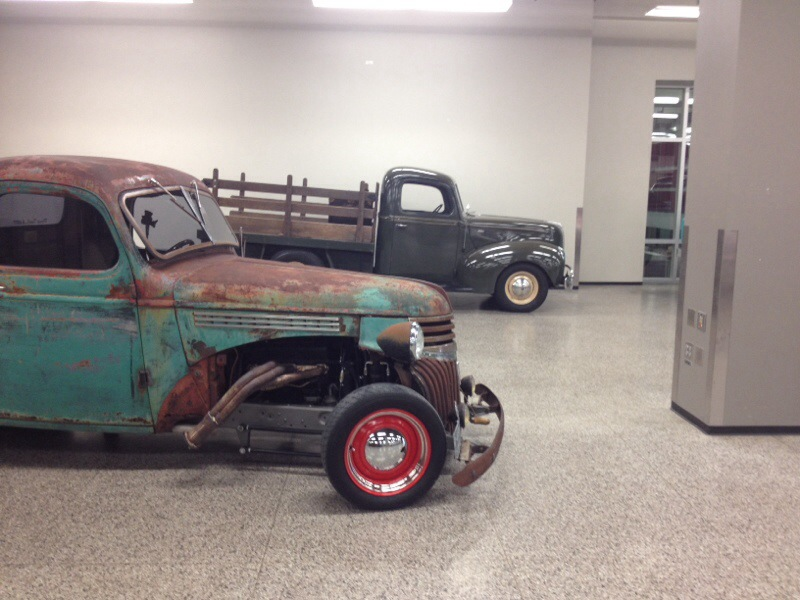 """I'm not into the """"rat rod thing"""", but felt I should get a """"perspective shot""""."""