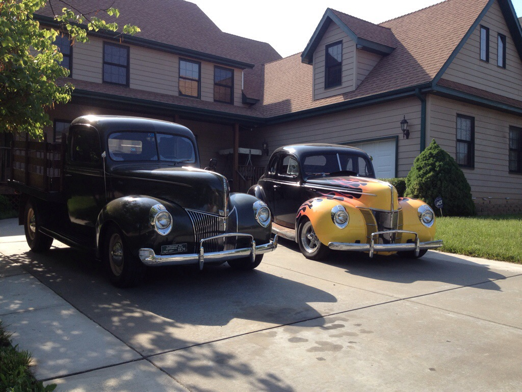The Stake Truck and The Coupe
