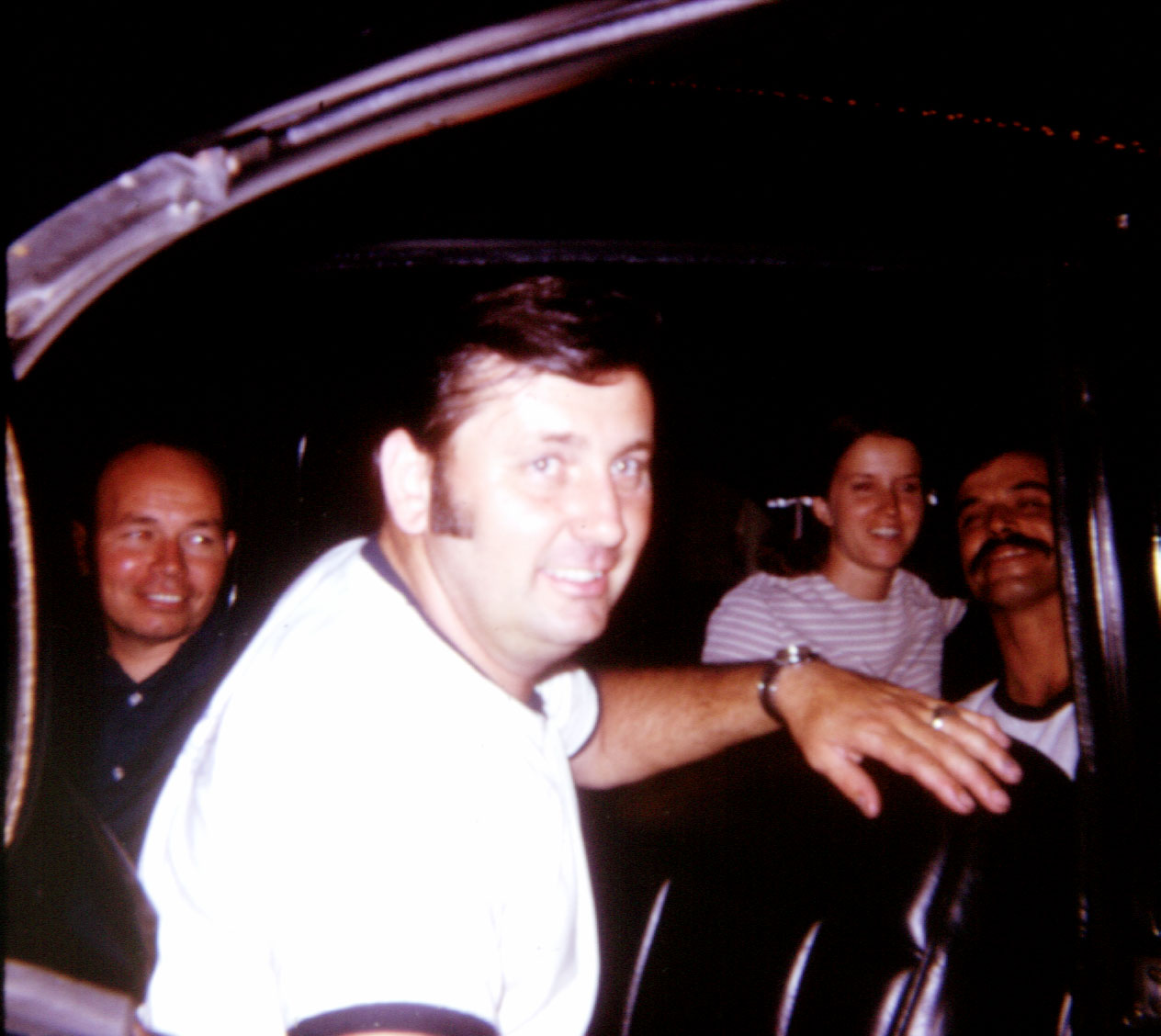 Porkey Leake, Cal Tiefenaur, Maureen, and Don Ward.
