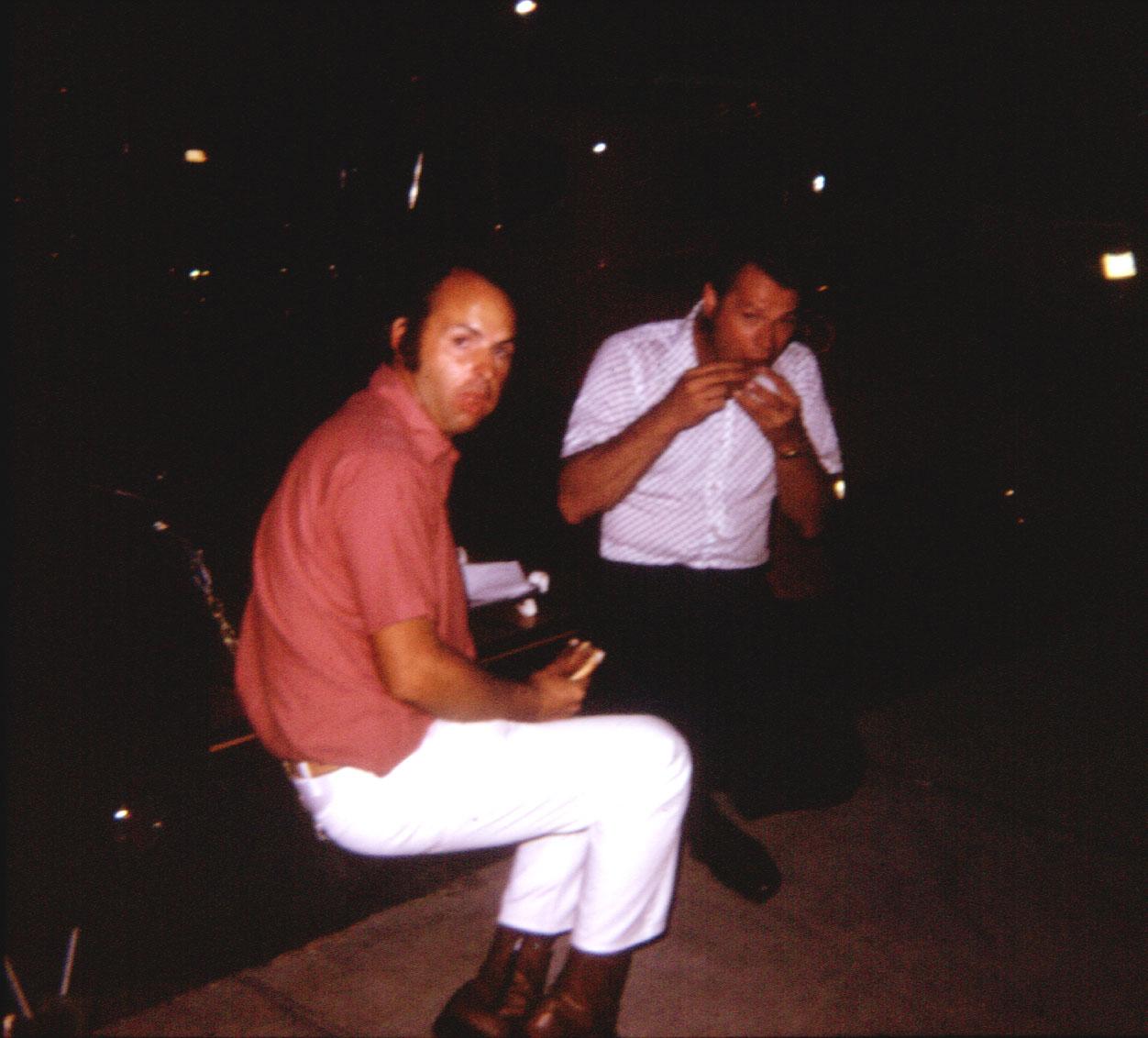 Dickie Carroll and Bert Wenker