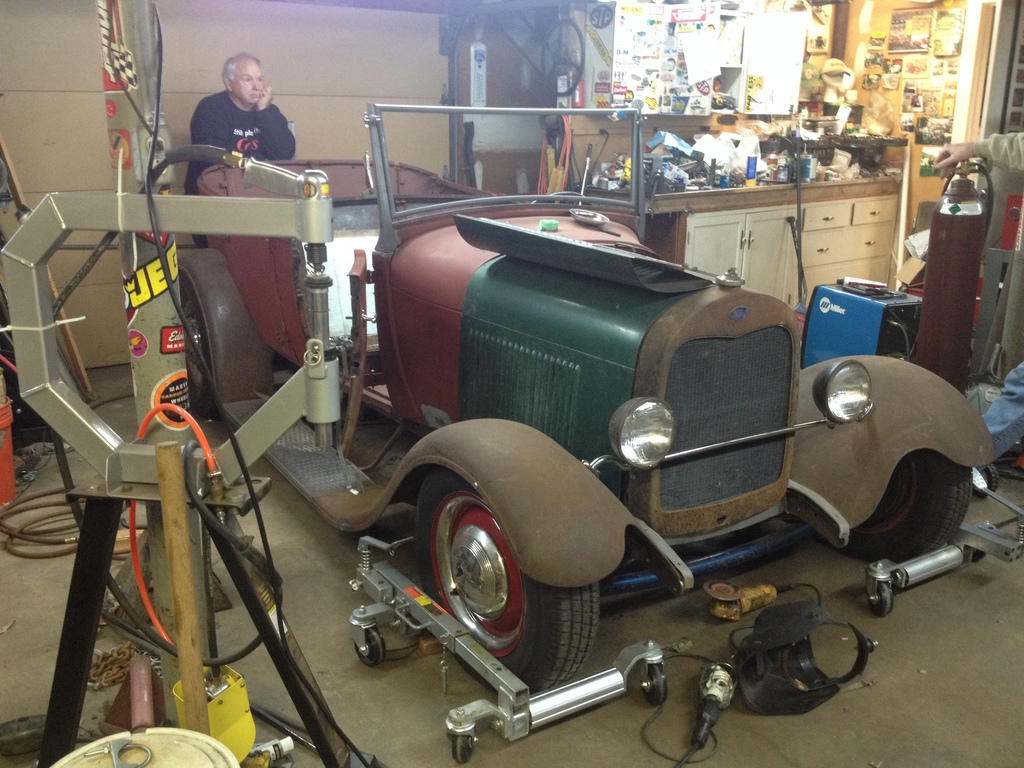 The '29 Phaeton.  This things gonna be cool!
